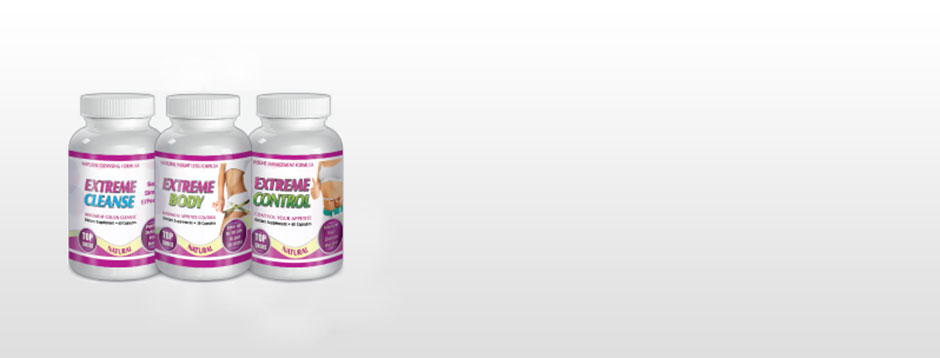 Extreme Control, Slim and Cleanse WEIGHT MANAGEMENT FORMULA